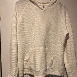 Hanna Andersson hooded adult knit sweater size M